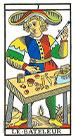 El Mago - Tarot de Marsella