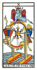 La Rueda de la Fortuna - Tarot de Marsella