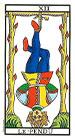 El Colgado o Ahorcado - Tarot de Marsella