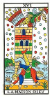 La Torre - Tarot de Marsella