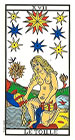 La Estrella - Tarot de Marsella