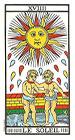 El Sol - Tarot de Marsella