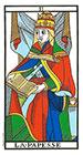 La Papisa o Sacerdotisa - Tarot de Marsella
