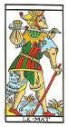 El Loco - Tarot de Marsella