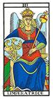La Emperatriz - Tarot de Marsella