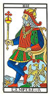 El Emperador - Tarot de Marsella
