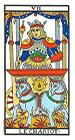 El Carro - Tarot de Marsella