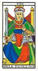 La Justicia - Tarot de Marsella