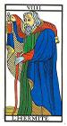 El Ermitaño - Tarot de Marsella