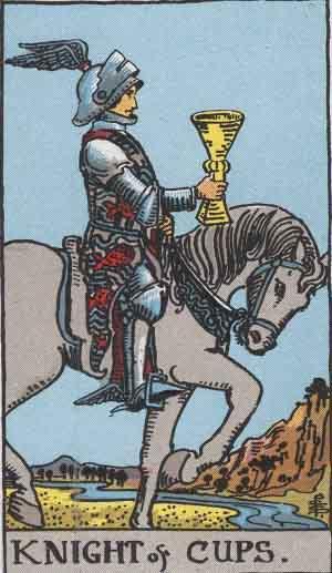 Caballo de Copas - Tarot Rider Waite