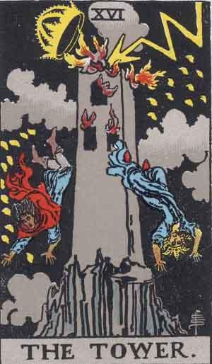 La Torre - Tarot Rider Waite