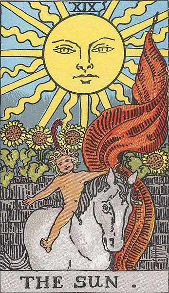 El Sol - Tarot Rider Waite