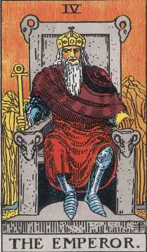 El Emperador - Tarot Rider Waite