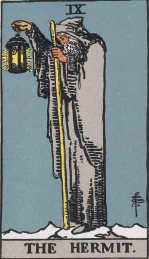 El Hermitaño - Tarot Rider Waite